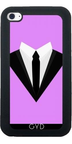 SilikonHülle für Ipod Touch 4 - Schwarzen Smoking Anzug Bogen by ilovecotton (Tuxedo Jacket Formale)