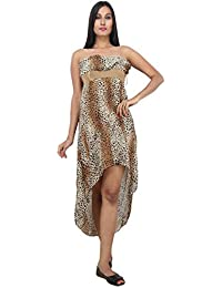 LondoHouze Printed Tube Hem Dress