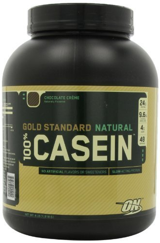 Optimum Nutrition 100% Casein Protein, Chocolate Creme, 4 Pound by Optimum Nutrition