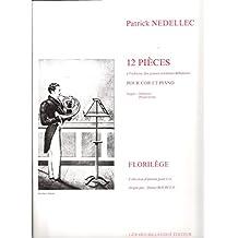 Partitions classique BILLAUDOT NEDELLEC PATRICK - 12 PIECES A L'ADRESSE DES JEUNES CORNISTES - COR, PIANO Cor