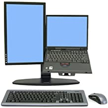 "Ergotron Neo Flex Neo-Flex LCD & Laptop Lift Stand - Soporte para televisor (12,7 kg, 50,8 cm (20""), 75 x 75, 100 x 100 mm, 0 - 127 mm, -5 - 25°, 360°) Negro"