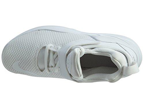 Nike Kwazi (Gs), espadrilles de basket-ball homme Blanco (White / White-Pure Platinum)