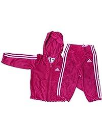 adidas Baby Mädchen (0-24 Monate) Sweatanzug rosa rose
