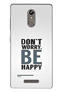 Gionee S6S Mobile Back Cover For Gionee S6S; It Is Matte glossy Thin Hard Cover Of Good Quality (3D Printed Designer Mobile Cover) By Clarks