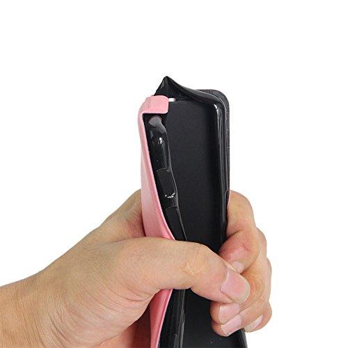Manyip Téléphone Coque - PU Cuir rabat Wallet Housse [Porte-cartes] multi-Usage Case Coque pour Alcatel One Touch POP 3(5 inch Pixi 3(5 inch) Classique Mode affaires Style(JFC4-8) E