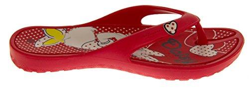 De Fonseca de Disney Damas después de las sandalias del dedo del pie del verano Rosso
