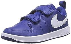 Nike Unisex-Kinder PICO 5 (PSV) Sneaker, Blau (Deep Royal Blue/White 400), 34 EU