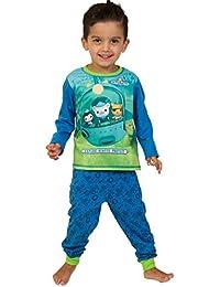 Octonauts Schlafanzug Erkunden–Rescue–Schützen Pyjama 3bis 6Jahre W16 Gr. 5-6 Jahre, Blau