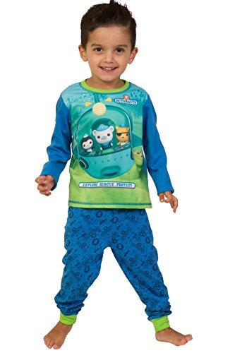ThePyjamaFactory - Pijama dos piezas - para niño azul azul 4-5 Años
