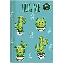 "Diario agenda scuola collegetimer ""Cactus"" 2019/2020 - Settimanale - 224 pagine - 10x15 cm"