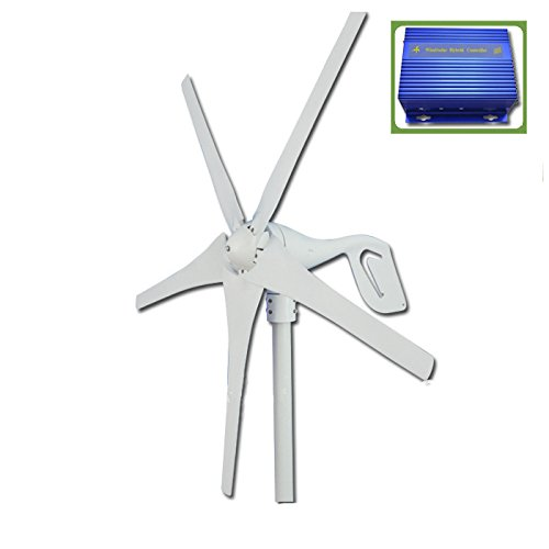 Gowe Marine Wind Generator 600W max; Wind-Turbine Generator für Home + Wind/Solar Hybrid Controller -