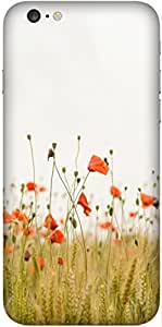 Summer Flower Printed Back Cover Case For Apple-iPhone 6s Plus