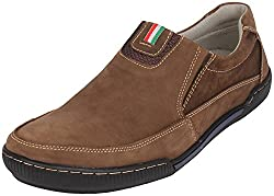 Action Shoes Mens Coffee Nubuck Casual Shoes 8 UK