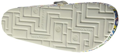 Dr. Brinkmann - 600367, Ciabatte Donna Multicolore (Mehrfarbig (bunt))