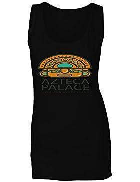 Palacio Azteca Mexicano camiseta sin mangas mujer o900ft
