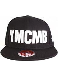 Casquette snapback YMCMB - 2 noir, blanc