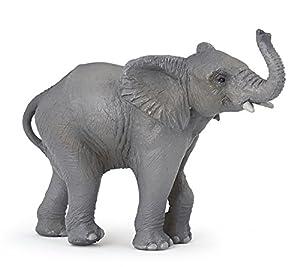 Papo- Young Elephant Figura, Multicolor (50225)