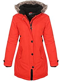 Geographical Norway Davina Lady Damen Parker Jacke Winter Parka Outdoor 0e9c2f6a97