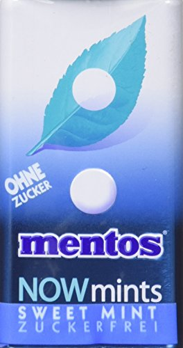 Mentos NOWmints Sweet Mint, 2er Pack (2 x 12 x 18 g)