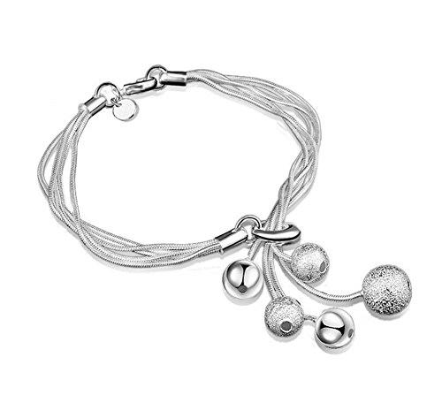 Leisial™ Mujeres de Pulsera de Diamantes de Colores Joyería Cristal para Regalos de Cumpleaño Accesorios de Boda Novia (#2)