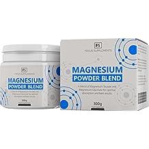 Fórmula de Magnesio - 50:50 Magnesio Glicinato y Taurato - Suplemento de Biodisponibilidad Alta