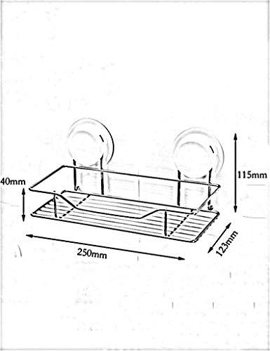 Yetta scaffale - gabinetto di stoccaggio scaffale per bagno scaffale per bagno tipo di scaffale per bagno specchio frontale bagno cucina accessori sanitari scaffale cosmetici telaio da parete appendia