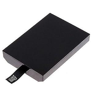 Althemax® New Schlank 320GB HDD 320G Internal Hard Drive Festplatten-HDD für Microsoft Xbox 360 – Schwarz