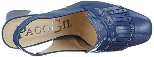 Paco Gil Damen P3248 Pumps Blau (denim)