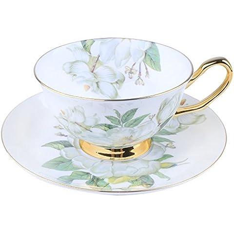 Osso Porcellana Ceramica Tazza Di Tè Tazza Di Caffè, Camelia,