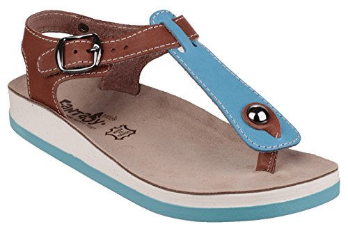 FA Fantasy Zante Chaussures occasionnelles Blue/Tan