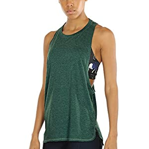 icyzone Sport Tank Top Damen Locker – Yoga Fitness Shirt Racerback Oberteile atmungsaktive