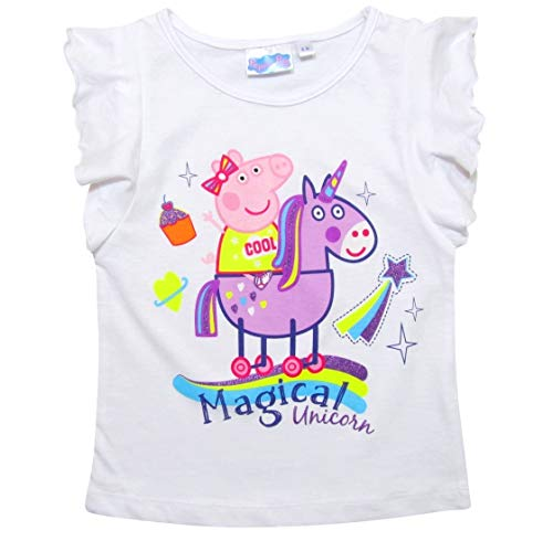 Gentle T-shirt E Pantaloncino Peppa Pig Bambina Taglia 6 Anni Quality First Other