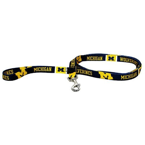 ncaa-michigan-wolverines-pet-lead-small-team-color-by-hunter-mfg-llp