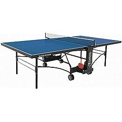 Garlando Mesa Ping Pong Master Outdoor Con Ruote Per Esterno Azul
