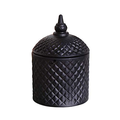 Natürliche Soja-Wachs Große Glas Duftkerze, Das Lied Von Black and White Castle Smokeless Aroma-Kerze Duft, Weihnachten…