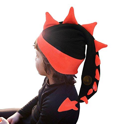 Geekbuzz Lustige dumme Drachen-Endstück-Hüte Neuheit-Abendkleid-Kostüme Nachtkappen für schlafende verrückte Partei-Kopfbedeckung für Erwachsene Kinder (klein, (Lustige Dumme Kostüme Halloween)
