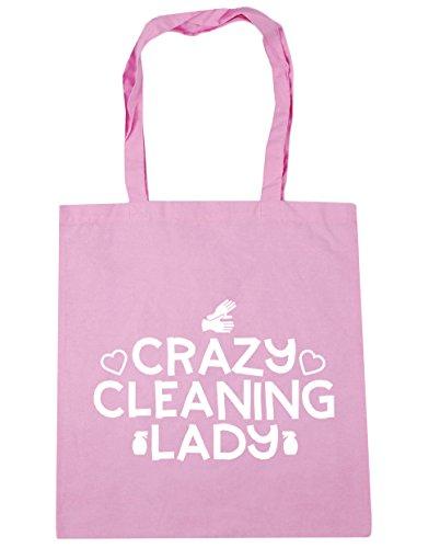 HippoWarehouse ,  Damen Strandtasche Gr. One Size, Classic Pink Mop Caddy