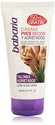 Babaria Aloe Vera Cracked Heel and Very Dry Foot Cream 150ml