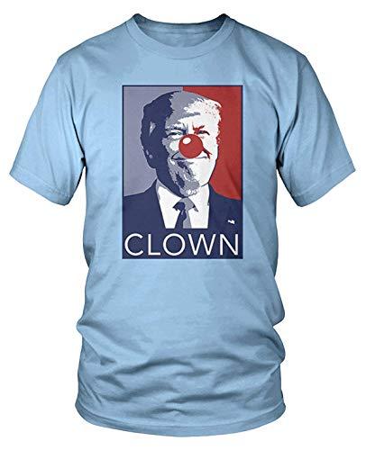 Men's Trump Clown, Anti-Trump T-Shirt L