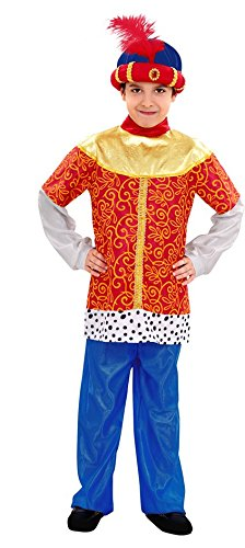 König Balthasar Kostüm - Disfrazzes - Kostüm des Balthasar Königs als Kind 5 bis 6 Jahre Alt