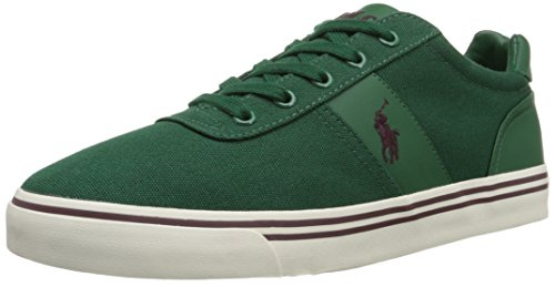 Ralph Lauren Mens Hanford SK VLC Textile Trainers Olive