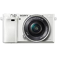 Sony  6000 + 16 - 50mm - Cámara digital (Paisaje, Retrato nocturno, Retrato, Puesta del sol, Neutral, Vivo, Electrónico, Batería, MILC, 16 - 50 mm)
