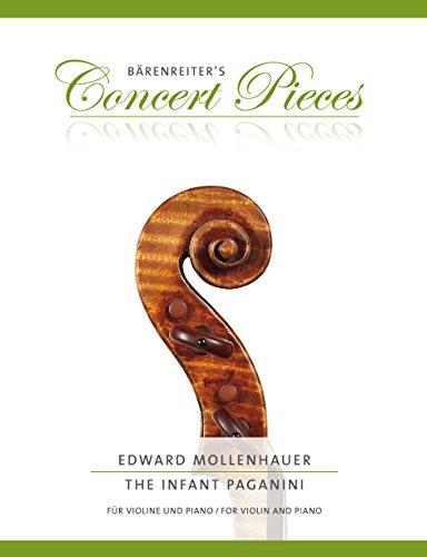The Infant Paganini: Klavierauszug, Stimmen par Edward Mollenhauer