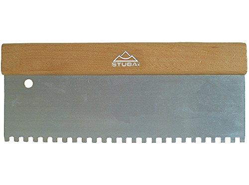 stubai-447402-spatola-dentata-stendicolla-manico-legno-300-mm