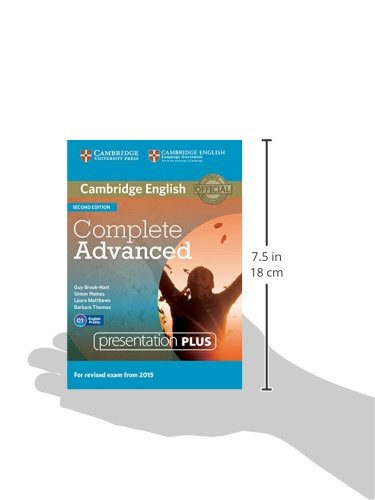 Complete Advanced. Presentation Plus. DVD-ROM