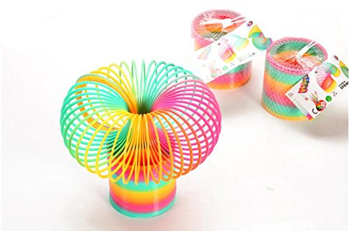10cm-large-rainbow-spring-coil-slinky-fun-kids-toy-magic-stretchy-bouncing-new