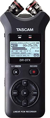 Tascam DR-07X Tragbarer Audiorekorder (Dj-audio-recorder)