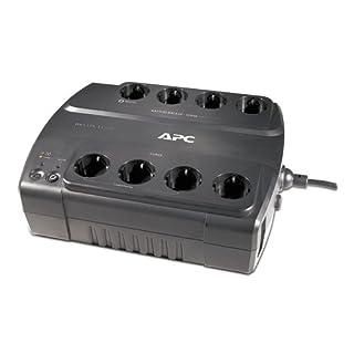 APC Back-UPS ES 550 - Unterbrechungsfreie Stromversorgung 550VA - BE550G-GR - 8 Schuko Ausgänge - Überspannungsschutz
