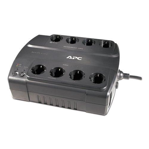 APC Back-UPS ES - BE550G-GR - Unterbrechungsfreie Stromversorgung 550VA (8 Schuko Ausgänge, Überspannungsschutz) -