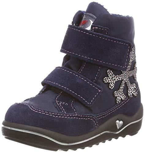 RICOSTA Mädchen HILDI Hohe Sneaker, Blau (Nautic/Marine 171), 20 EU